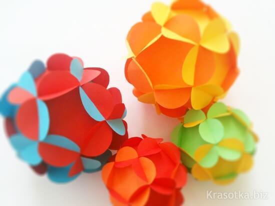 制作纸鲜花