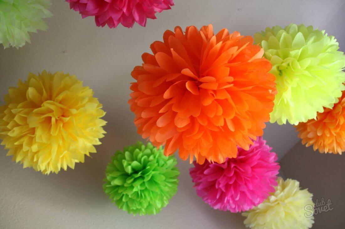 如何从纸上制作散装气球