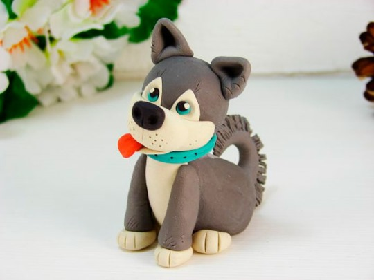 Làm thế nào để làm một con chó từ plasticine: trấu, spitz, người chăn cừu, Chihuahua, Taku. Các lớp học chính từng bước với hình ảnh