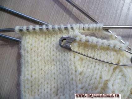 คำอธิบาย Knitting Veasions with spokes พร้อมลิ่ม