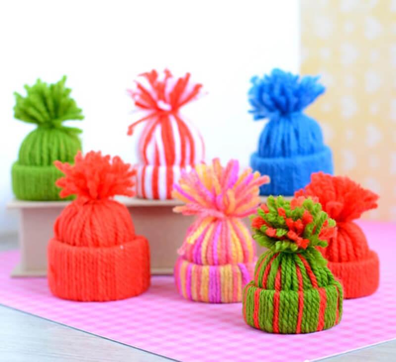 Hogyan készítsünk kalapot a szálakról?