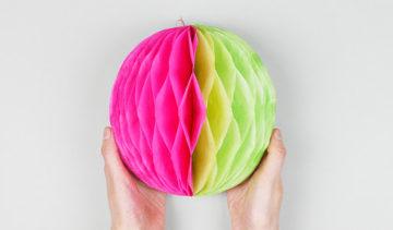 如何制作纸球:制作纸球的最佳选择照片