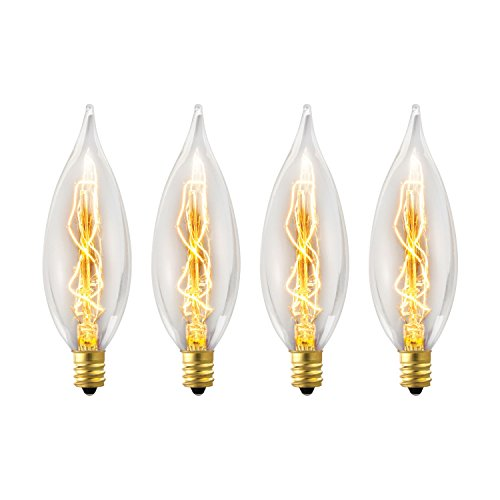 Junolux Led Burning Light Flicker Flame Light Bulb