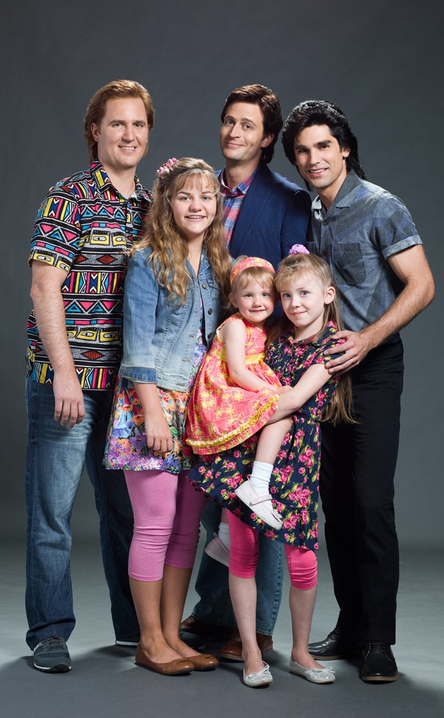 Lifetime s Full House Movie  We Need to Talk About This Cast Photo     The Unauthorized Full House Story