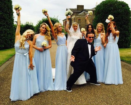 Ring James Wedding Stunt