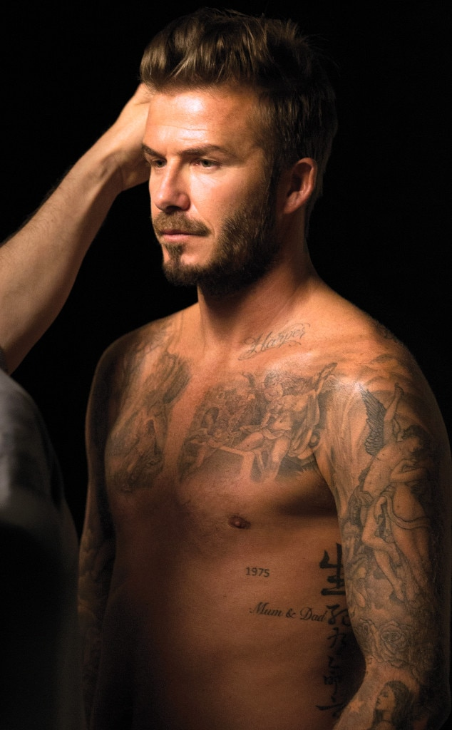 A Guide to David Beckham's Sexiest Tattoos (You're Welcome ...