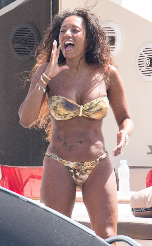 Mel B Shows Chiseled Abs in Bikini After Almost 30 Pound Weight Loss     Melanie Brown  Mel B