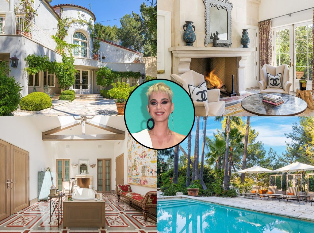Katy Perry's Hollywood Hills Mansion Is Now on the Market for $9.5 Million | E! News
