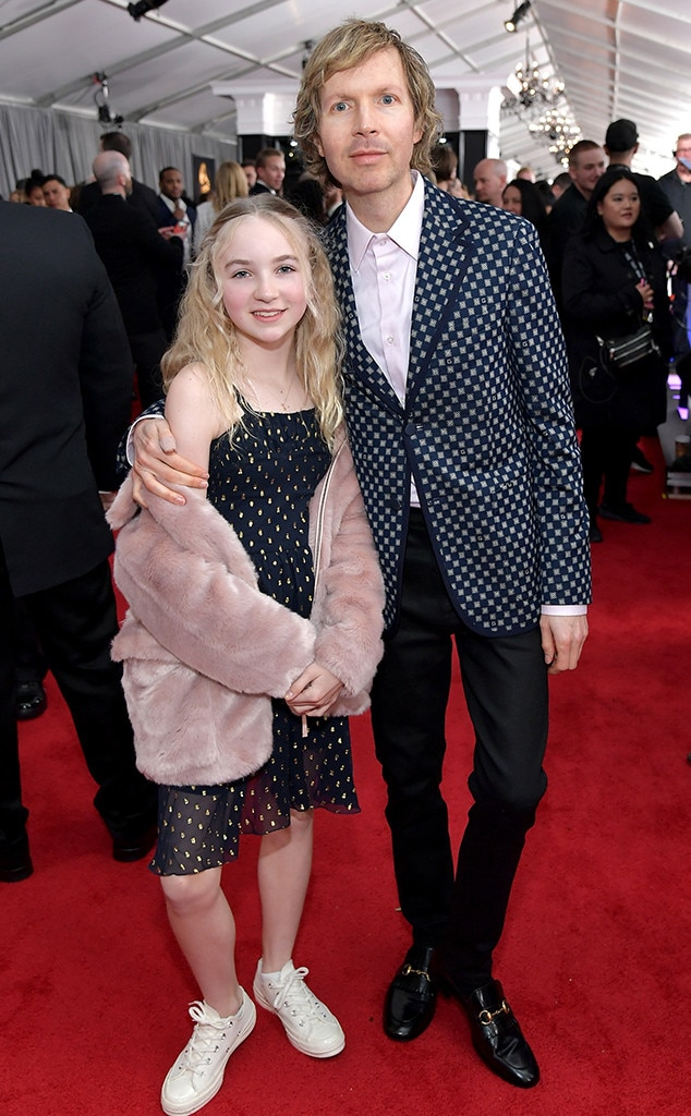 Beck & Tuesday Hansen from Celeb Kids at the 2019 Grammys ...