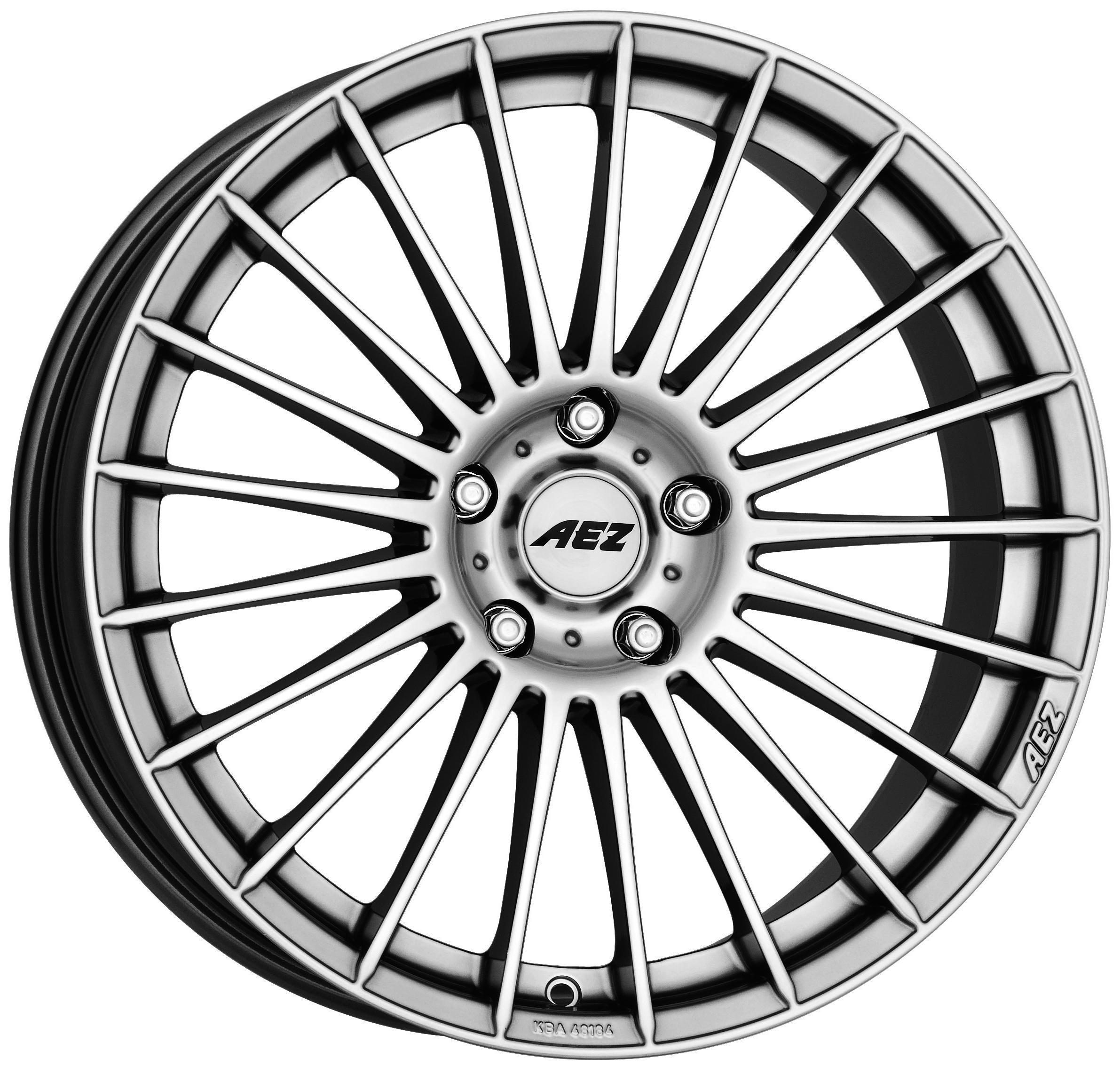 19″ aez valencia alloy wheels and tyre package aez valencia has a high gloss finish to its multi spokes