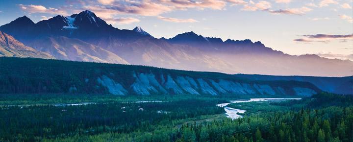 Northern Lights Alaska Summer