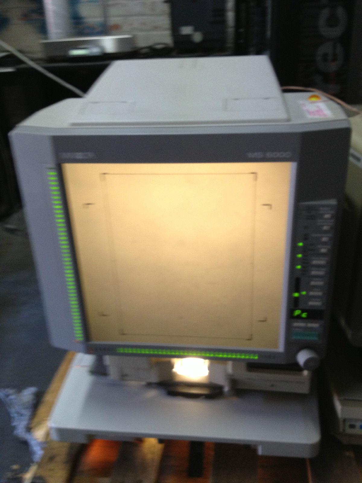 Minolta Ms 6000 Microfilm Amp Microfiche Reader Your Usa