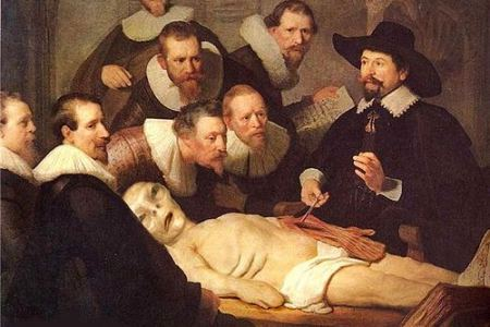 the anatomy lesson painting » Electronic Wallpaper | Electronic ...