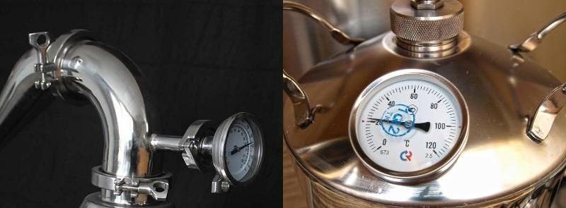 фото термометров в самогонном аппарате