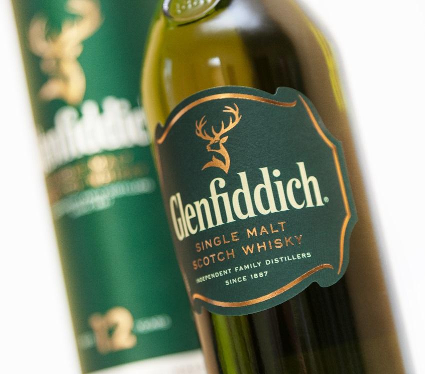 Glenfiddich Single Malt Scotch Ảnh whisky