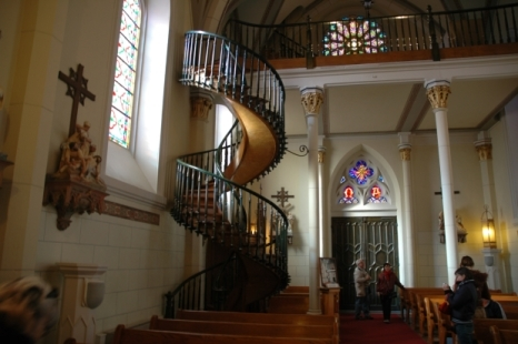 The Day St Joseph Built A Staircase In New Mexico   Stairway Of Loretto Chapel   Original   Sister   Story   Spiral   Mysterious