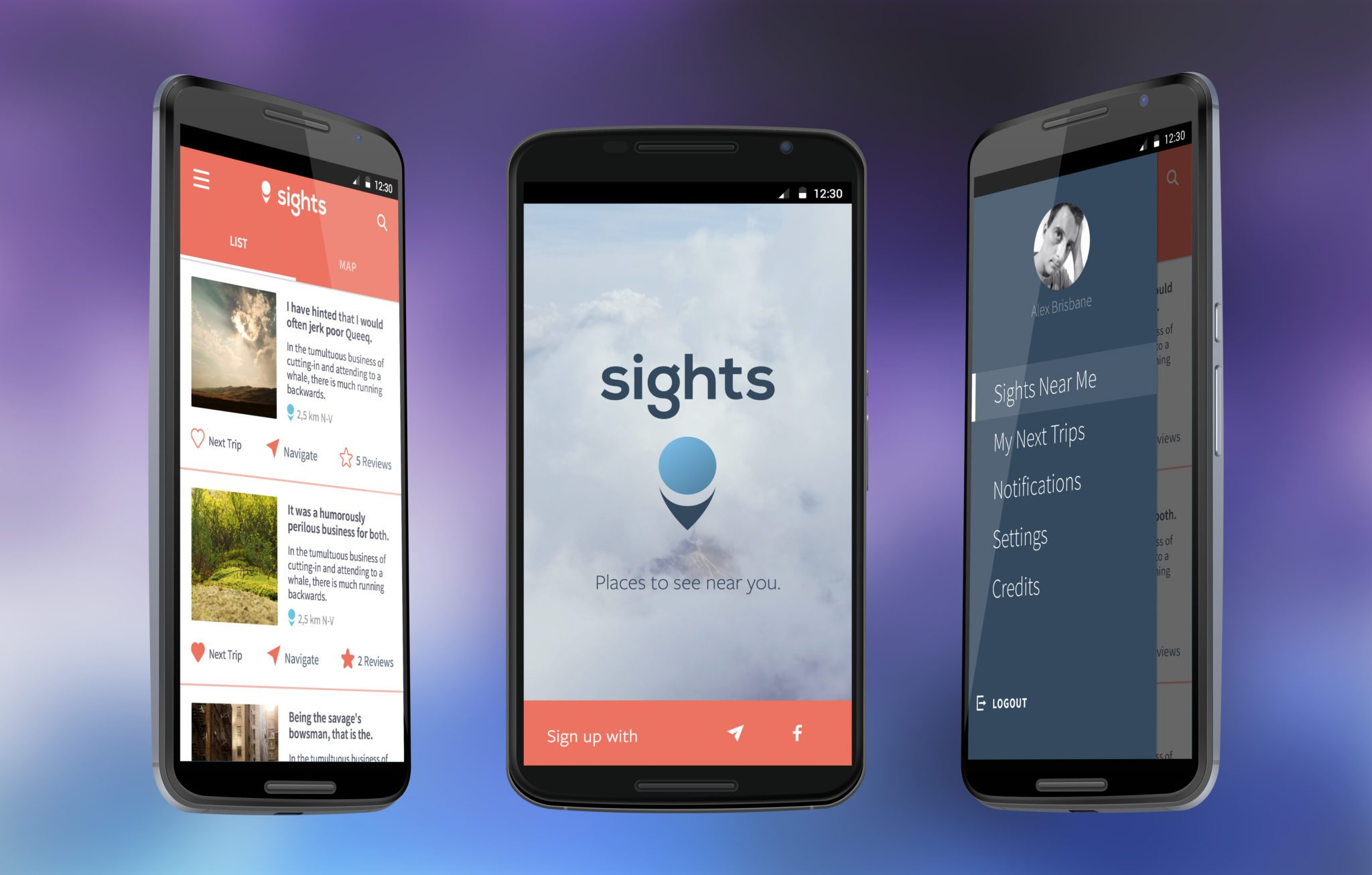 SIGHTS Android APP