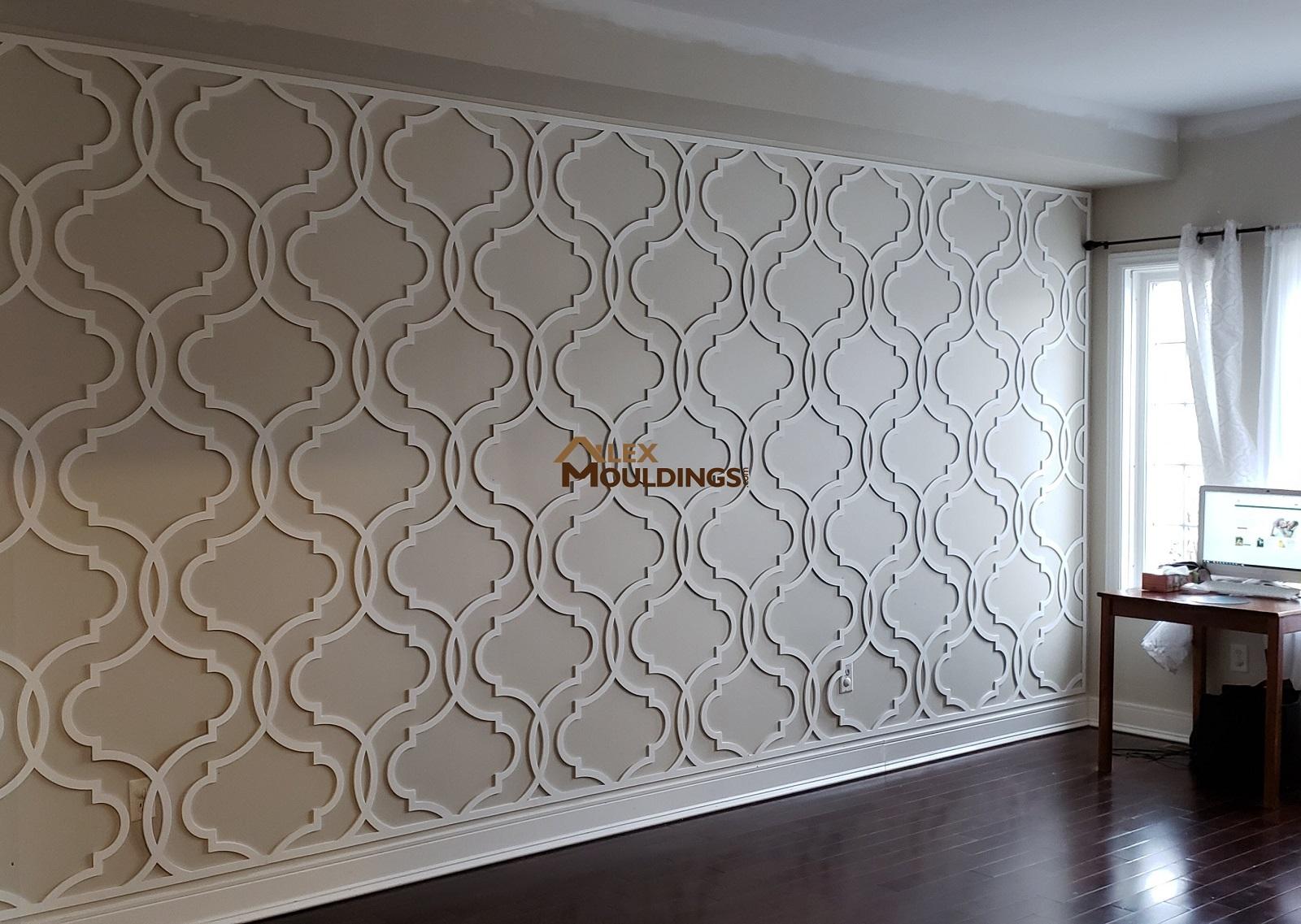 Decorative 3d Wall Panels Custom Millwork Wainscot
