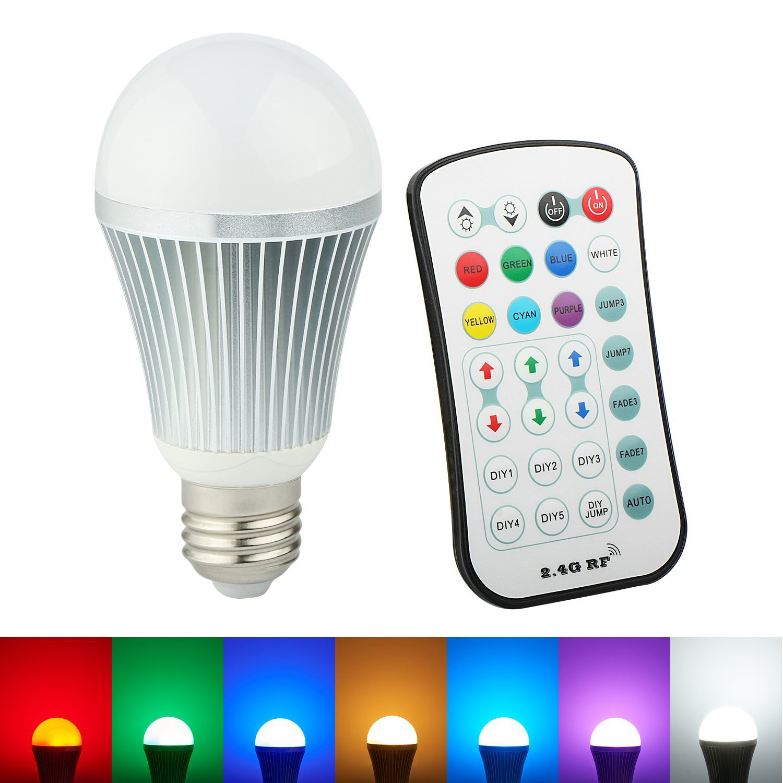 Color Changing Led Light Bulb Remote