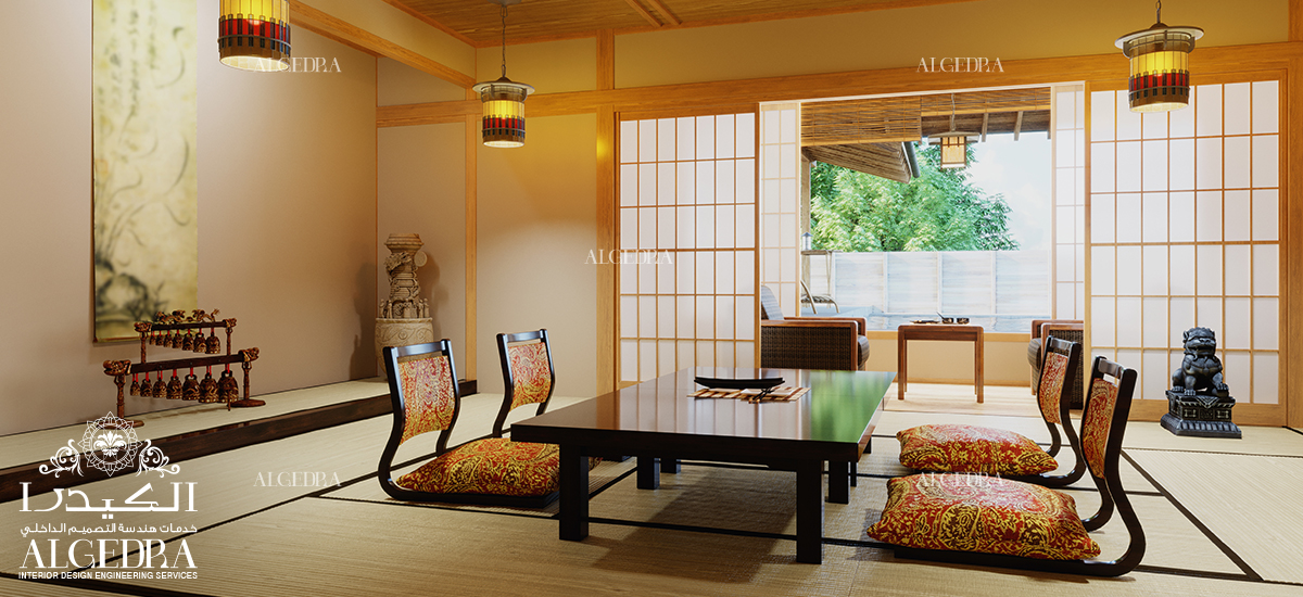 Japanese Style in Interior Design by ALGEDRA