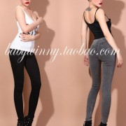 FREE-SHIPPING-Limited-edition-vintage-aa-high-waist-slim-hip-jeans-tight2