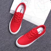 Free-shipping-casual-shoes-women-canvas-low-lace-up-flat-plaform-breathable-shoes-out-door-shoes-5