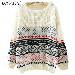 INGAGA-Brand-2016-Newest-Women-Sweater-and-Pullover-Christmas-Round-Neck-Long-Sleeve-Geometric-Pattern-Knitwear-1