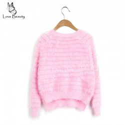 New-2015-Winter-Free-Shipping-8-Colors-Crew-Neck-Warm-Winter-Women-Mohair-Sweater-Pullover-Solid-1