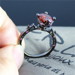 Simulated-Red-Diamond-Flower-Black-Rings-for-Women-Men-Engagement-Party-Gifts-High-Quality-Jewelry-Trendy-1