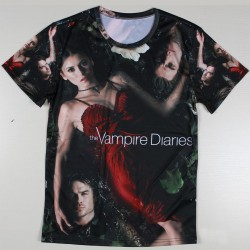 Unique-The-Vampire-Diaries-Breaking-Bad-T-Shirts-for-Men-Short-Sleeve-Sexy-Women-Patten-T-1