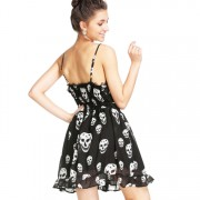 Women-Summer-Casual-Mini-Cute-Beach-Dress-Skull-Print-Strap-Dresses-Backless-Dress-Empire-vestidos-2