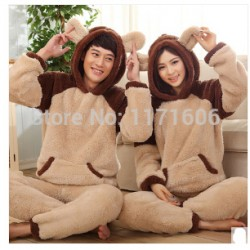 Sale-New-cartoon-Kigurumi-Pijama-Women-Thickening-Winter-Flannel-Sleepwear-Female-Coral-Lounge-Set-Split-Long-1
