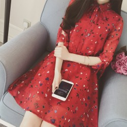 2016-Summer-Dress-Women-Fashion-Printing-Shirt-Collar-Chiffon-Dresses-Women-Casual-Wasp-Waisted-3-4-1