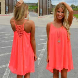Summer-style-Women-dress-plus-size-2016-new-fashion-chiffon-Fluorescent-Sexy-derss-women-summer-dress-1