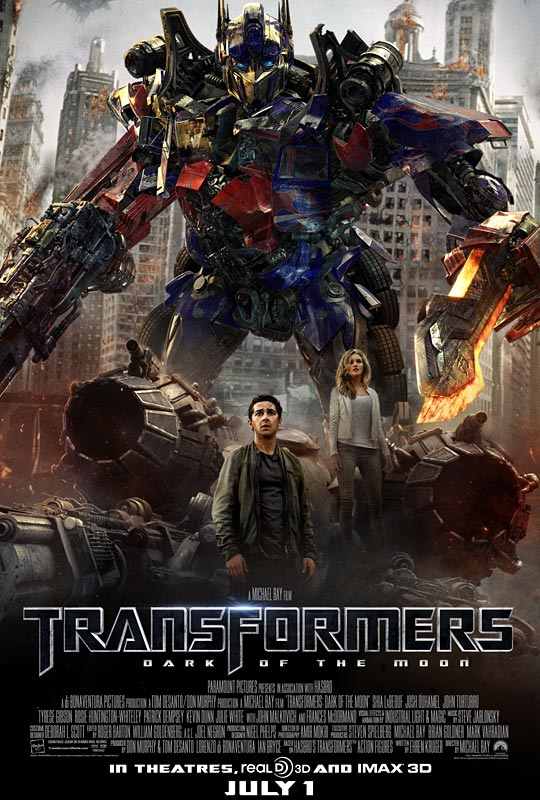 'Transformers 3: Dark of The Moon' Review | From the Mind ...
