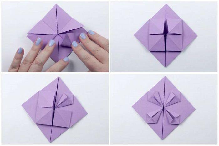 Καρδιά με λουλούδι χαρτιού: Βήματα 17-20