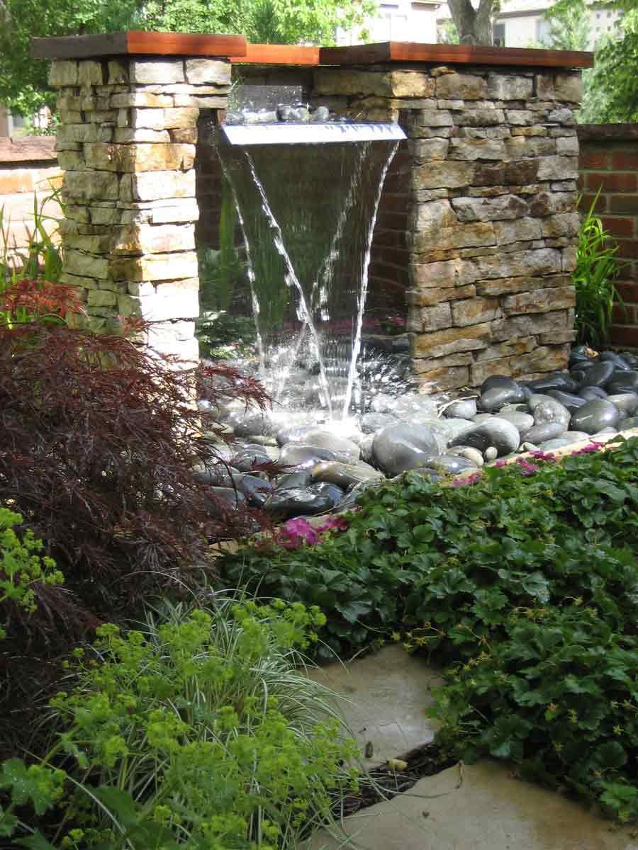 Garden Pond Features