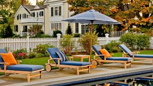 Pool Patio Furniture Ideas Backyard Design Ideas