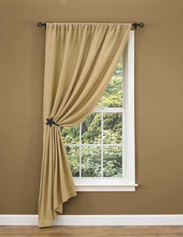 Tie Back Curtains Window Treatments
