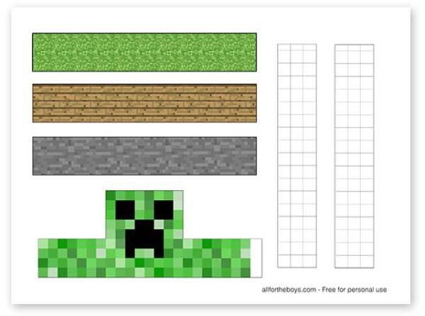 minecraft printable pictures # 31