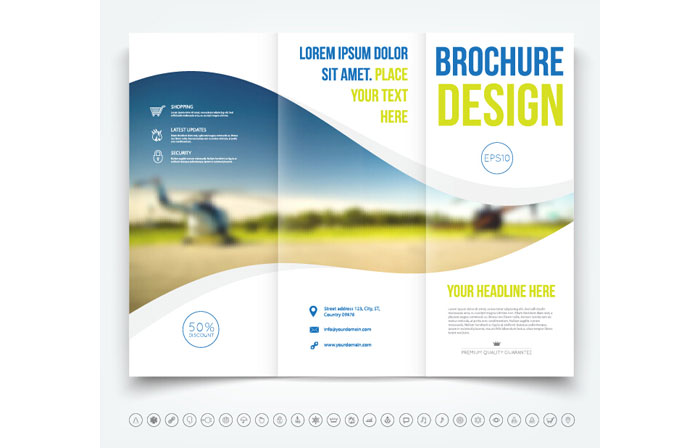 Free Facebook Template Powerpoint