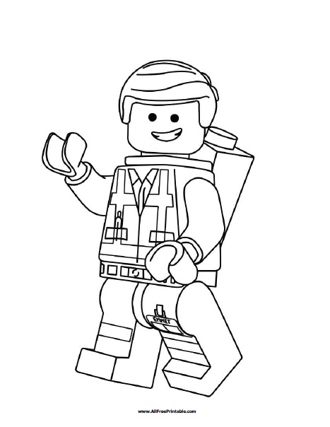 legos coloring pages # 8