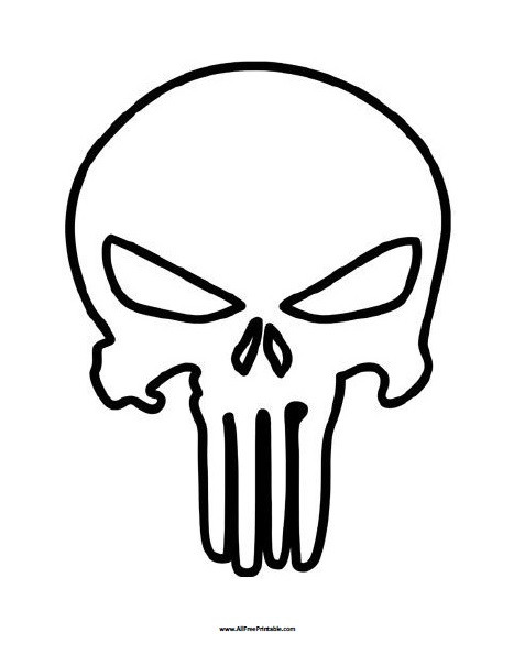 skulls coloring pages # 19