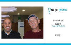 All-on-4 Happy Patient: Joseph!