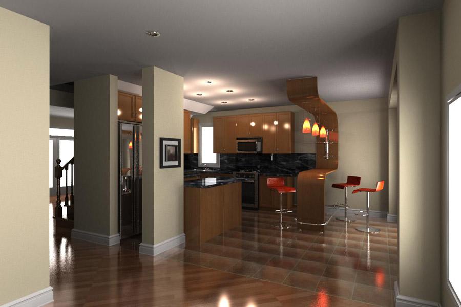 Modern Kitchen 3ds Max
