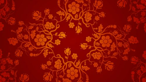Red Chinese Wallpaper Designs 04 of 20 with Floral Pattern   HD     Red Chinese Wallpaper Designs 04 of 20 with Floral Pattern
