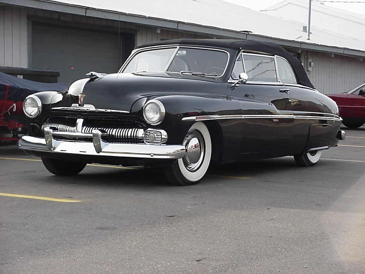 1950 Mercury Convertible All Star Upholstery Twin