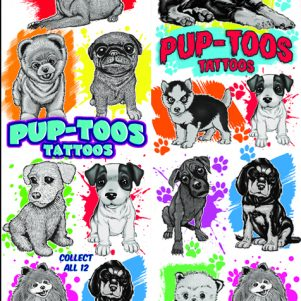 Pup-toos Tattoos