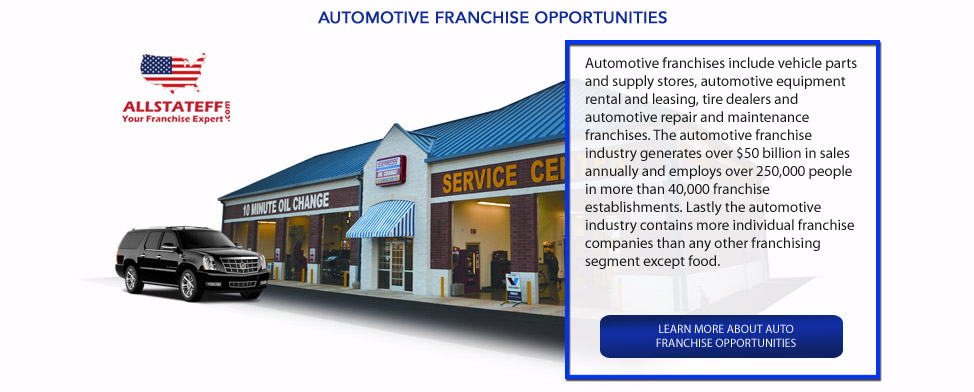 AUTOMOTIVE FRANCHISE OPPORTUNITIES: ALLSTATEFF.COM – FRANCHISE EXPERT