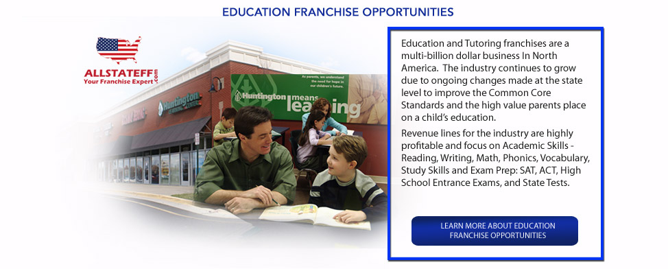 EDUCATION FRANCHISE OPPORTUNITIES: ALLSTATEFF.COM – FRANCHISE EXPERT